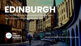 Edinburgh Development Finance Loan