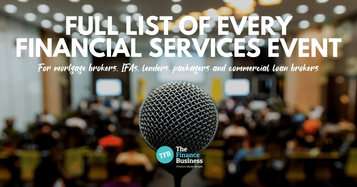 full list of financial services events