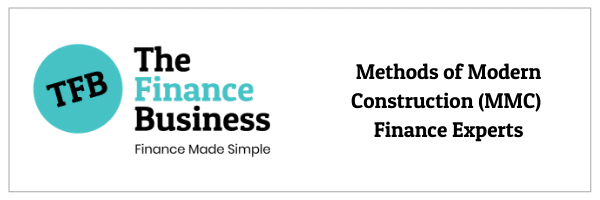 Specialists in Methids of Modern Construction (MMC) financing